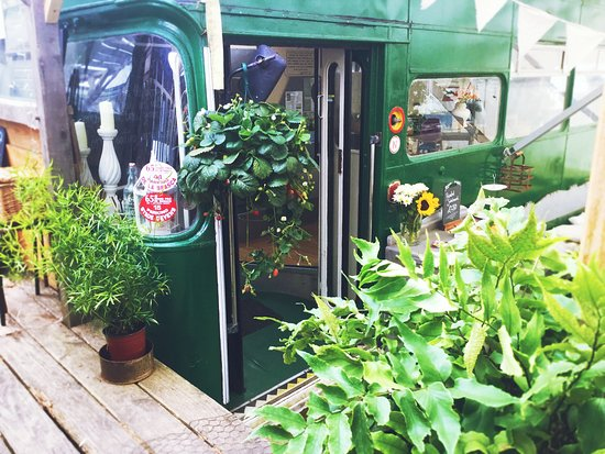 South Petherton, UK: Railway Carriage Cafe