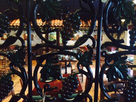 Burke, VA: iron grape decore