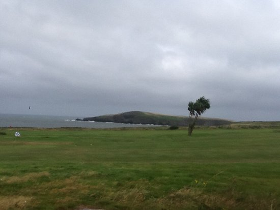 The Cliff Hotel & Spa: View from our bedroom.