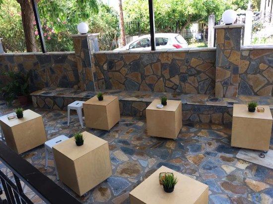 Kakovatos, Griekenland: patio