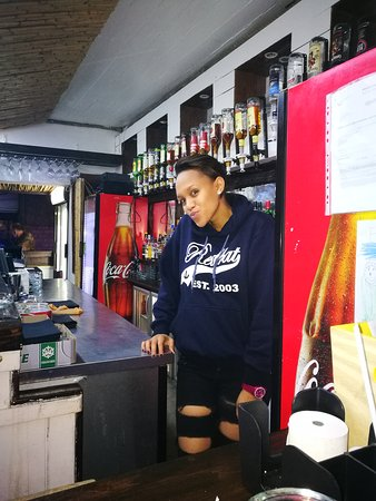 St. Helena Bay, South Africa: Random staff and clientele