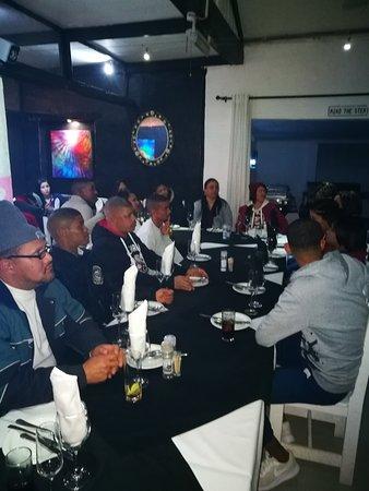 St. Helena Bay, Afrika Selatan: Random staff and clientele