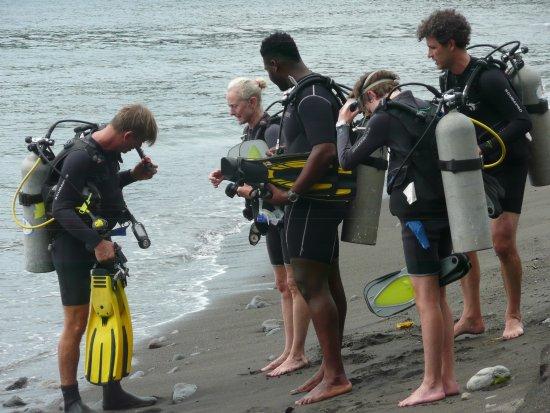 Richmond Vale Diving & Hiking Centre : Mulighed for dykning og tage PADI bevis