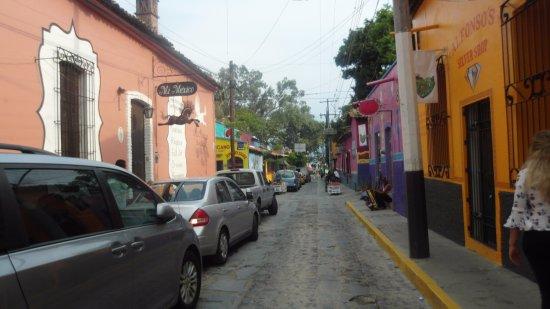 Casa de la Abuela: Calles del Pueblo Ajijic, Jalisco
