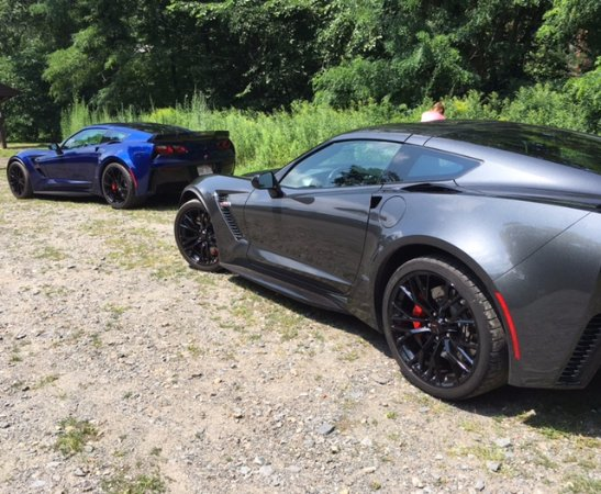 Billerica, MA: Our his-and-hers Corvettes!