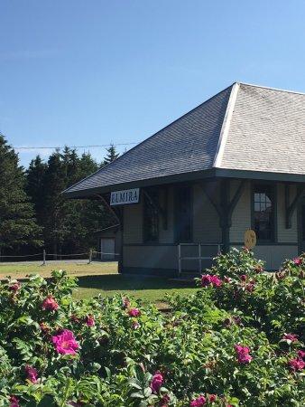 Original train station at Elmira