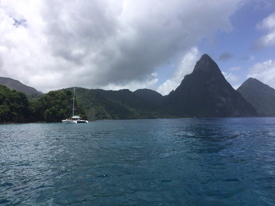 Castries, St. Lucia: Gros Piton, St. Lucia