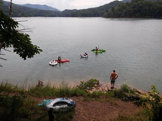 Unicoi, TN: A view from our campsite