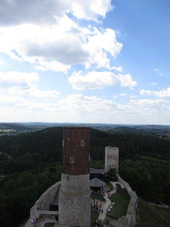 Chęciny, Polska: widok z wieży