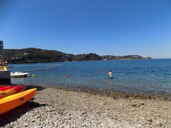 Senj, Kroatia: Vista mare
