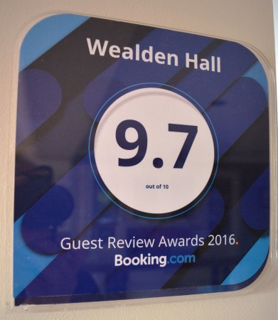 Wealden Hall : Our rating from Booking.com supports the Tripadvisor reviews