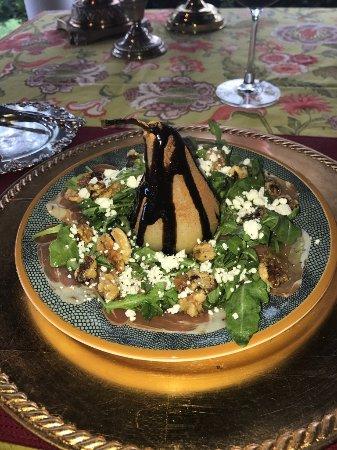 Granville, OH: Robbins Hunter Mesclun salad