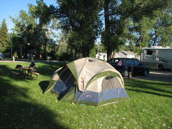 Cardston, Kanada: Group Campsite