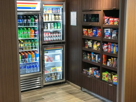 Hendersonville, Теннесси: Snack and Drinks area