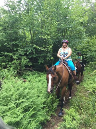 East Otis, Μασαχουσέτη: fun horseback riding