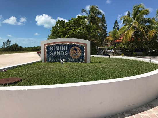Bimini: Very clean grounds.