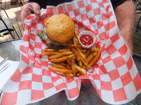Marble, CO: Great tasty Burger