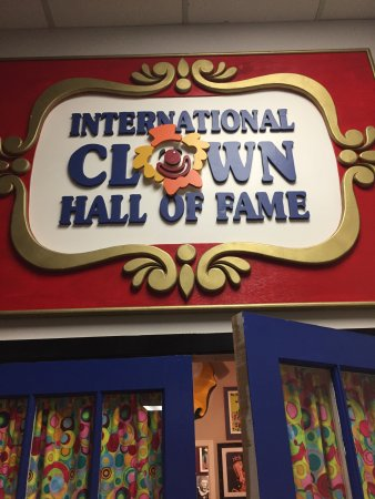 Baraboo, WI : The International Clown Hall Of Fame is the most wonderful jewel for circus history buffs. The m
