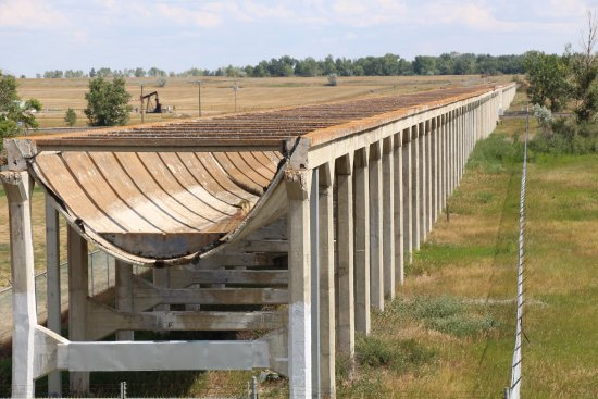 Brooks, Canada: Aqueduct