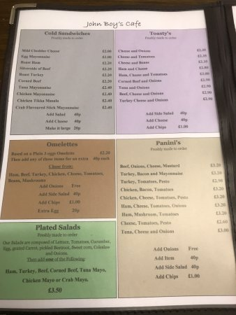 Royston, UK: These are the prices as printed on the menu from a few days ago