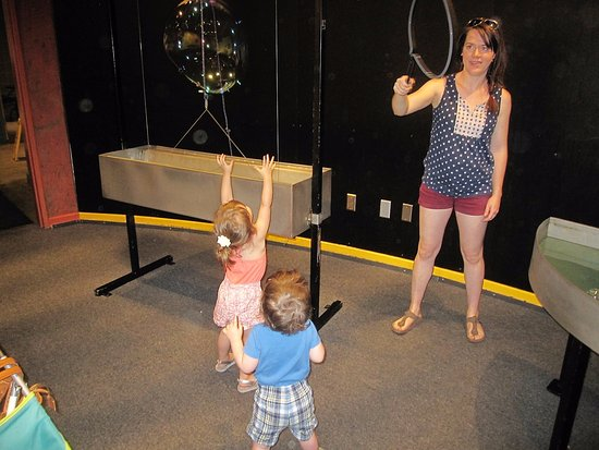 ScienceWorks Hands-on Museum: The Bubble Room has lots of bubble experience.