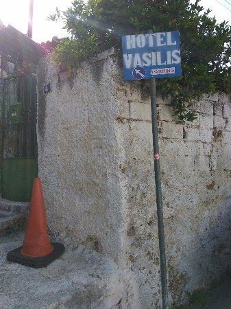 Vasilis Hotel: указатель