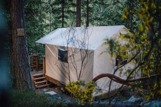 Madeira Park, Canada: Tent - exterior