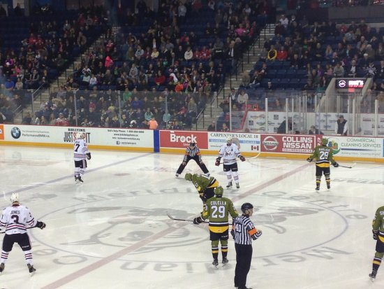 St. Catharines, Canadá: Meridian Centre - St Catharines