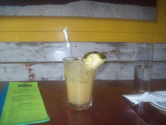Salsa Mexican Caribbean Restaurant : Pineapple juice