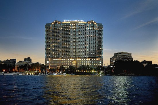 Four Seasons Hotel Cairo at Nile Plaza: CAI Exterior Shot