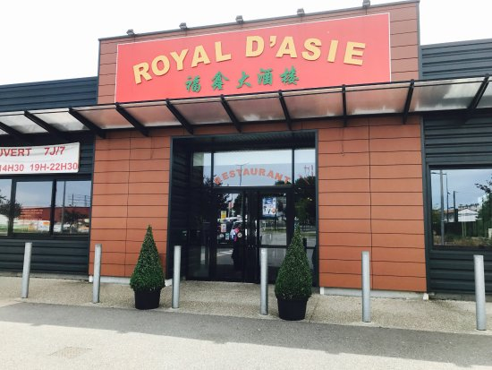 Royal d asie Évreux restaurant avis numéro de téléphone