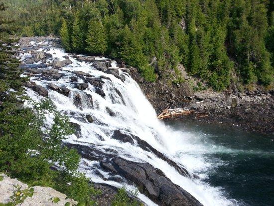 Riviere-Madeleine, Canada: La chute du Grand Sault