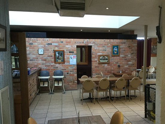 Chiltern, Australien: Dining area