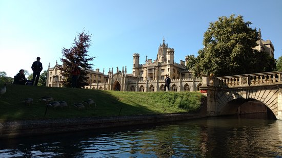 Scudamore's Punting Company: Punting on the River Cam 01