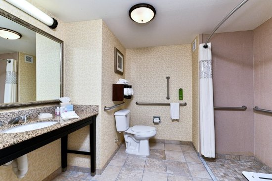 Ellsworth, ME: Accessible Bathroom with Roll-In Shower