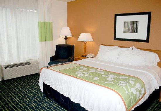 Fairmont, Virginia Occidental: King Guest Room