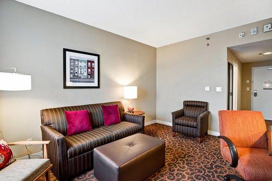 Hampton Inn Baltimore / Glen Burnie: Living Area