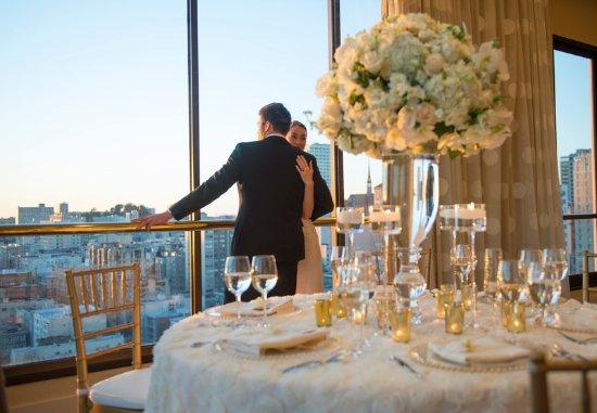 San Francisco Marriott Union Square: Wedding Reception