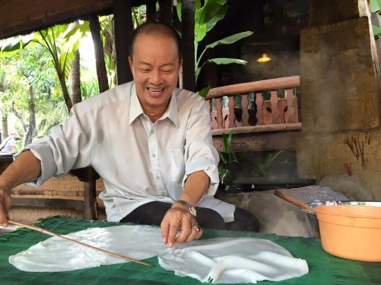 Quang Nam Province, Vietnam: Duc Hai enjoyed Quang noodle making