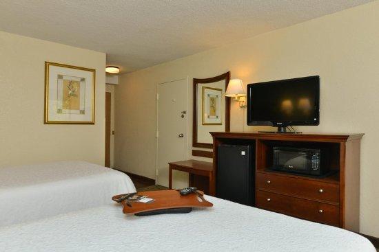 Hampton Inn Atlanta Marietta : Double Beds with TV