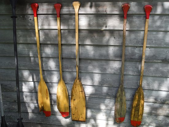 Eagle Lake, Canada: Canoe Paddles
