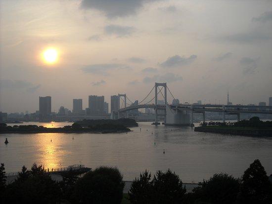 Odaiba: Rainbow Bridge from Decks Tokyo Beach Mall