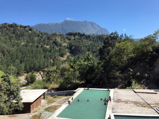 Maliana, Timor Leste: A pool with a view!