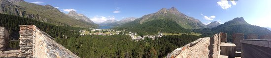 Graubünden, Zwitserland: Maloja Pass