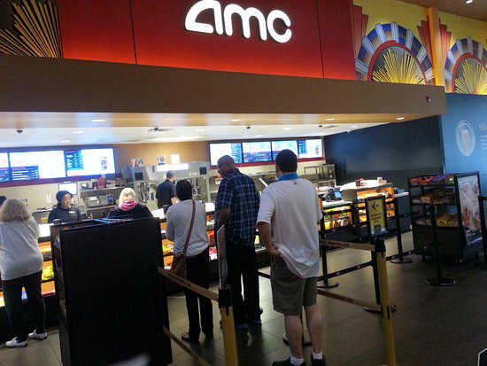 Concession Counter At The Amc Streets Of Woodfield 20 Theatre