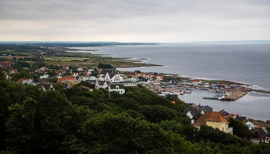 Molle, Zweden: View over Mölle