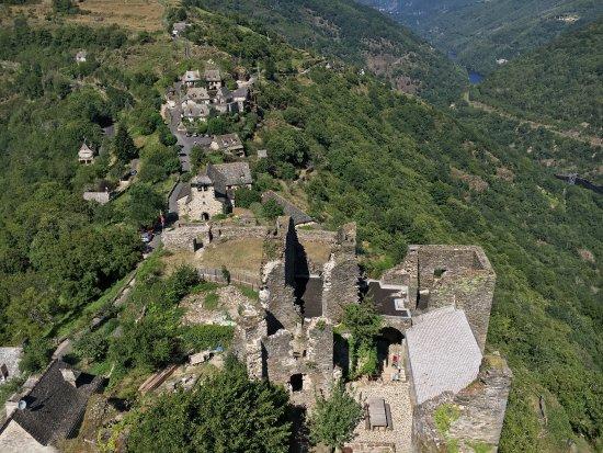 Lacroix-Barrez, France : Visite château de Valon