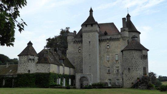 Aubusson, France: château de Villemonteix Creuse