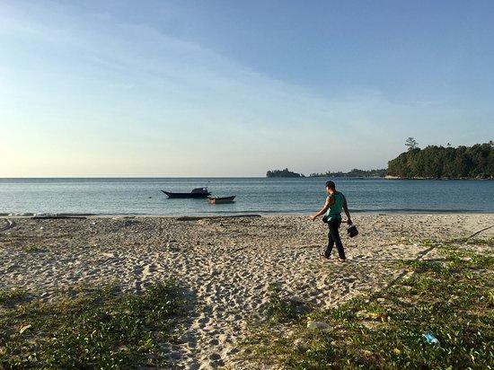 Kudat, Malasia: Kelambu Beach