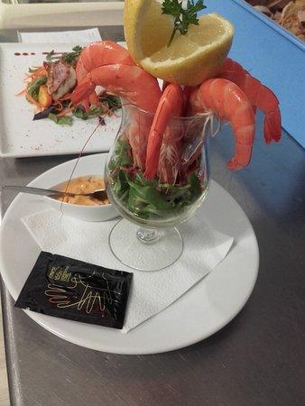 La Marine : Cocktail de crevettes
